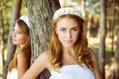 Princesess v bílých šatech