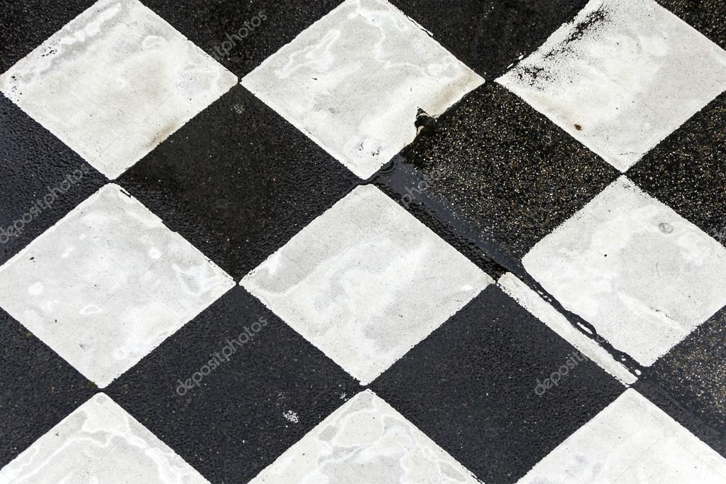 Awesome Black and White Tile Pattern