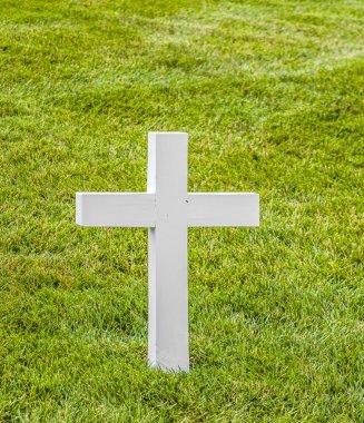 Graves at Arlington national Cemetery in Washington stock vector
