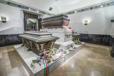 crypt of the Habsburger Queen Elisabeth called Sisi in Vienna