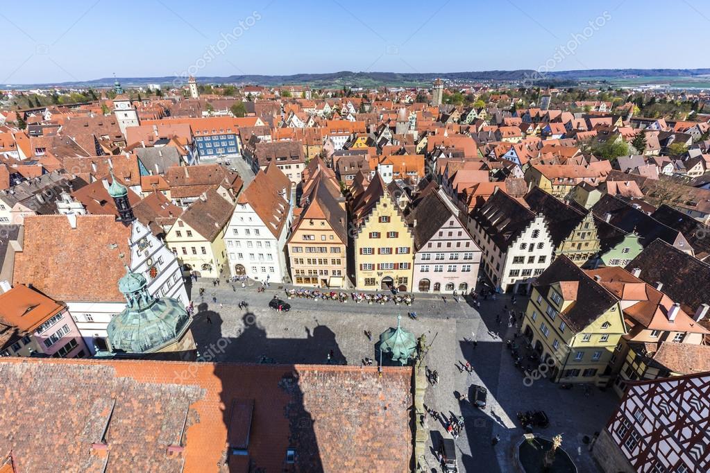 Rothenburg ob der tauber baviera alemania foto de - Rothenburg ob der tauber alemania ...