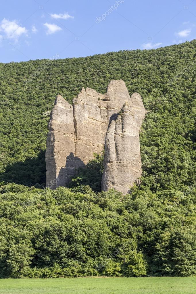 Unusual Rock Formations, Les Mees, France