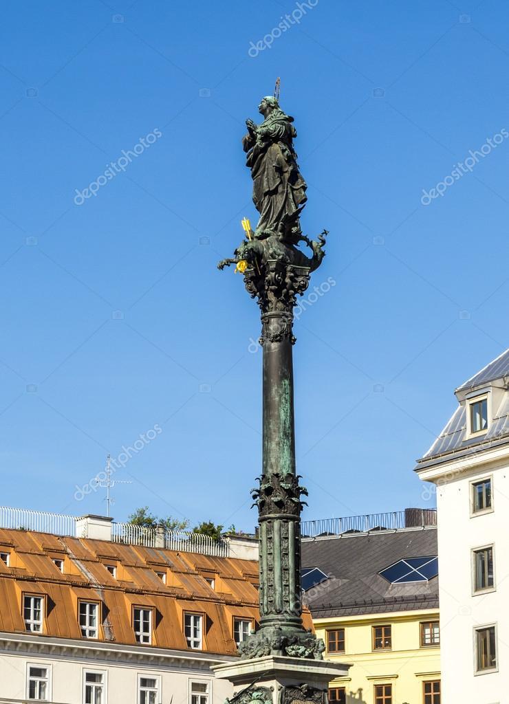 Marian column in vienna am Hof
