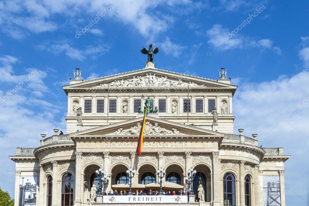 25tg Jahrestag Der Deutschen Einheit In Frankfurt Am Main