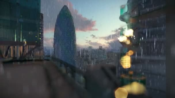Google Hoofdkwartier Londen : Londen bij zonsopgang regent swiss reinsurance hoofdkwartier de