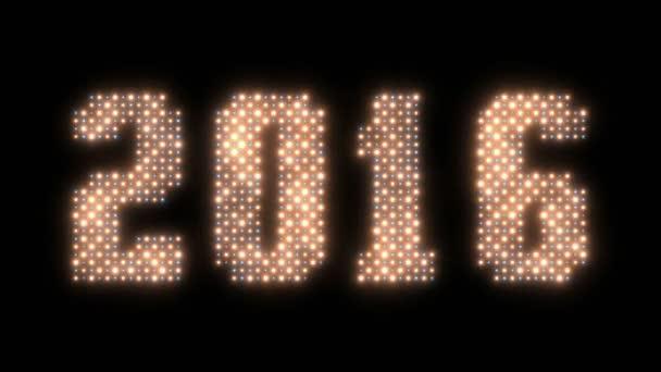 Šťastný nový rok 2016 znamení