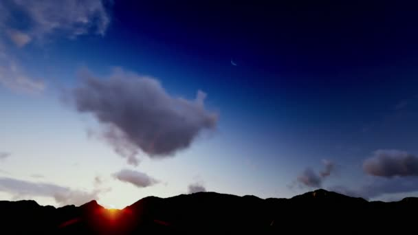 Heavenly Clouds, Sunrise over Mountains