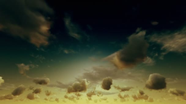 Nebeské slunce čas zanikla mraky