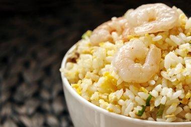 Shrimp Fried Rice Taiwanese Style