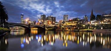 Melbourne Australia by Night