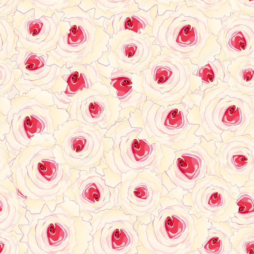 nahtlose Rosen Muster — Stockvektor © ckarabistr #103520032
