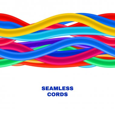 Colorful Cables Background