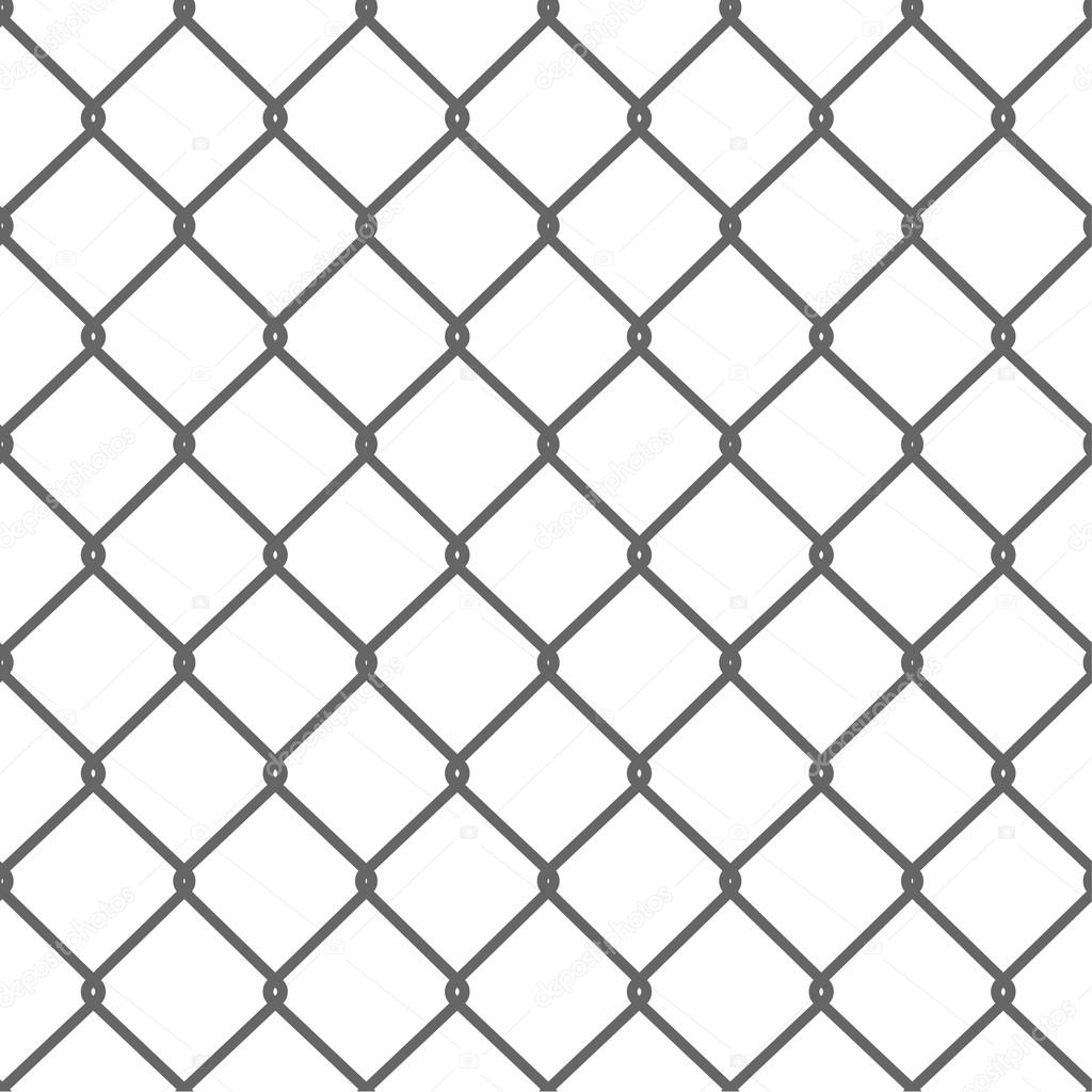 Seamless Wire Mesh — Stock Vector © dimair #72661989