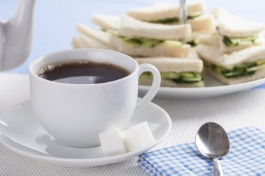 Tea and Cucumber Sandwiches