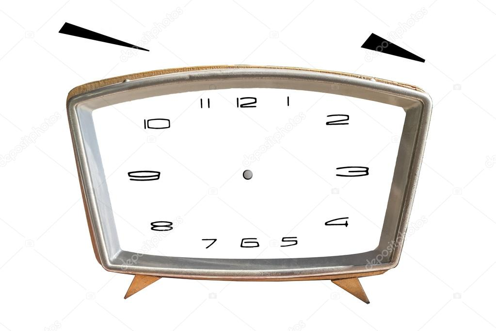 Blank clock face image | Blank clock face with hour, minute