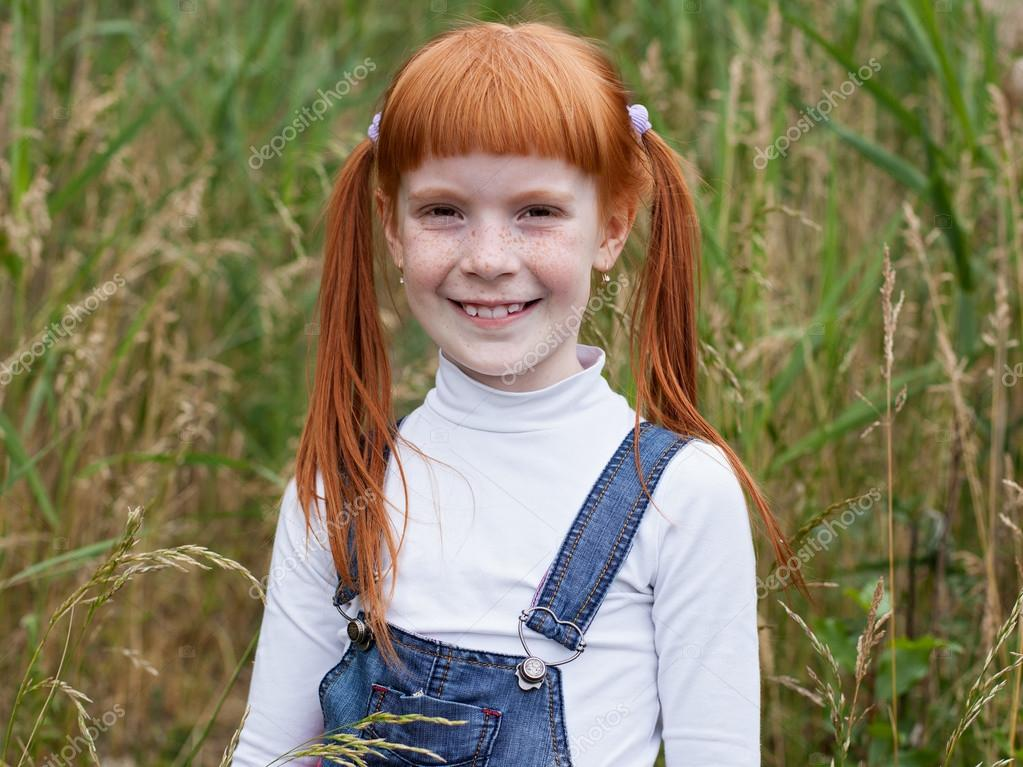 Beautiful redhead girls with freckles something is