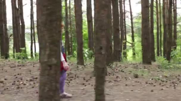 Little girl runs into the arms of her mother