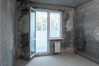 new flat without finishing