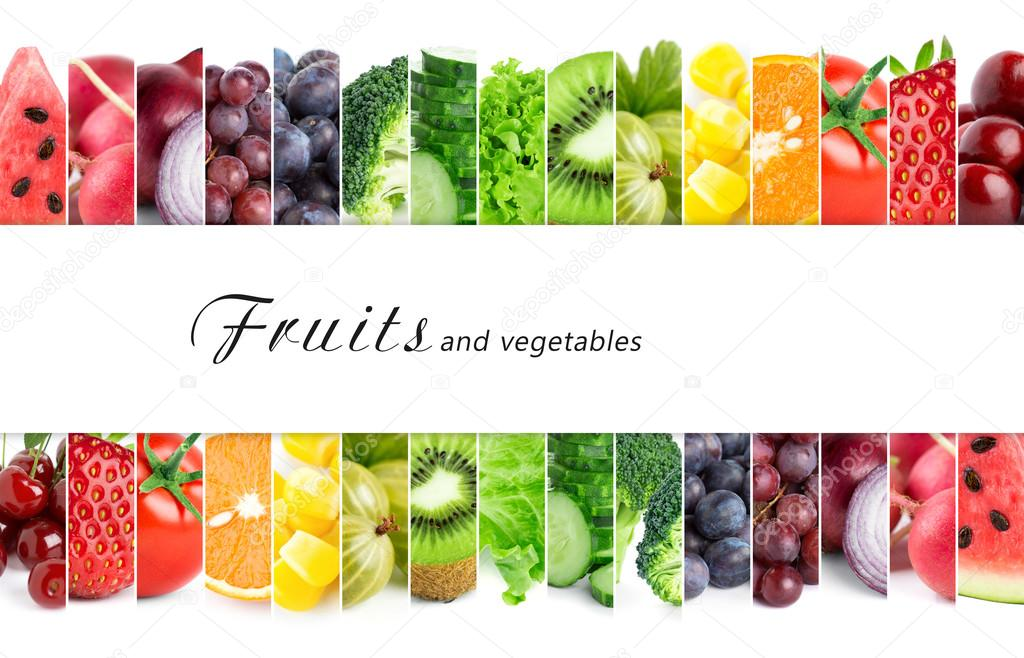 Frische Farbe-Obst und Gemüse — Stockfoto © seralex #90775186