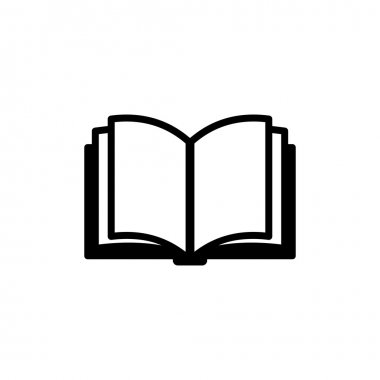 Book Icon. Vector Logo