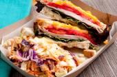 Alla griglia di Turchia e formaggio panini