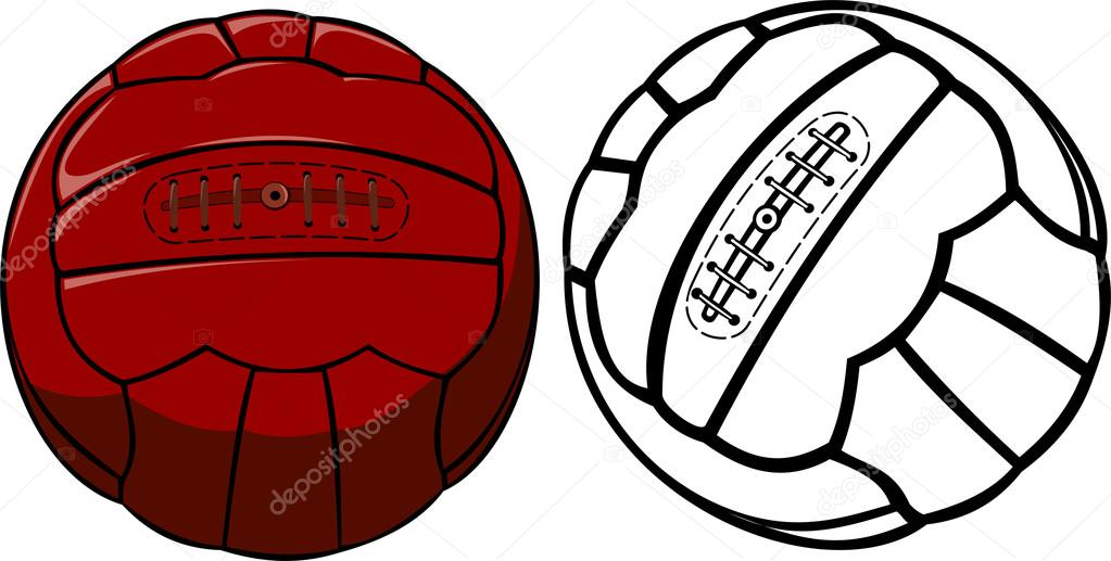 Vintage Soccer Ball 30