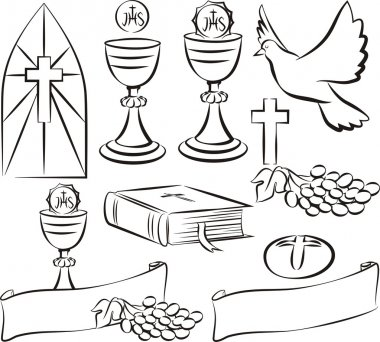 holy communion symbols