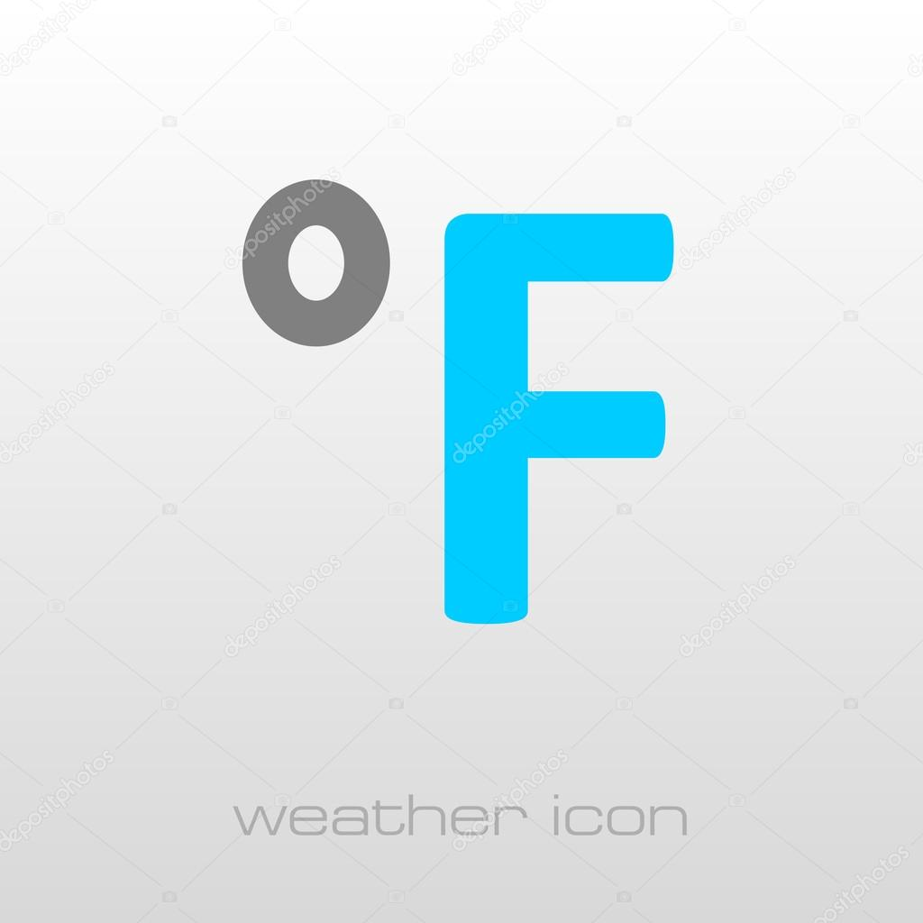 Degrees fahrenheit icon meteorology weather stock vector degrees fahrenheit outline icon meteorology weather vector illustration eps 10 vector by ayra biocorpaavc Choice Image