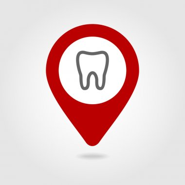 Tooth map pin icon