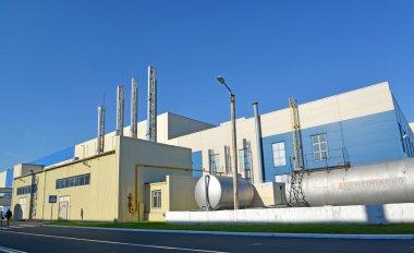 Gas boiler room of the modern enterprise