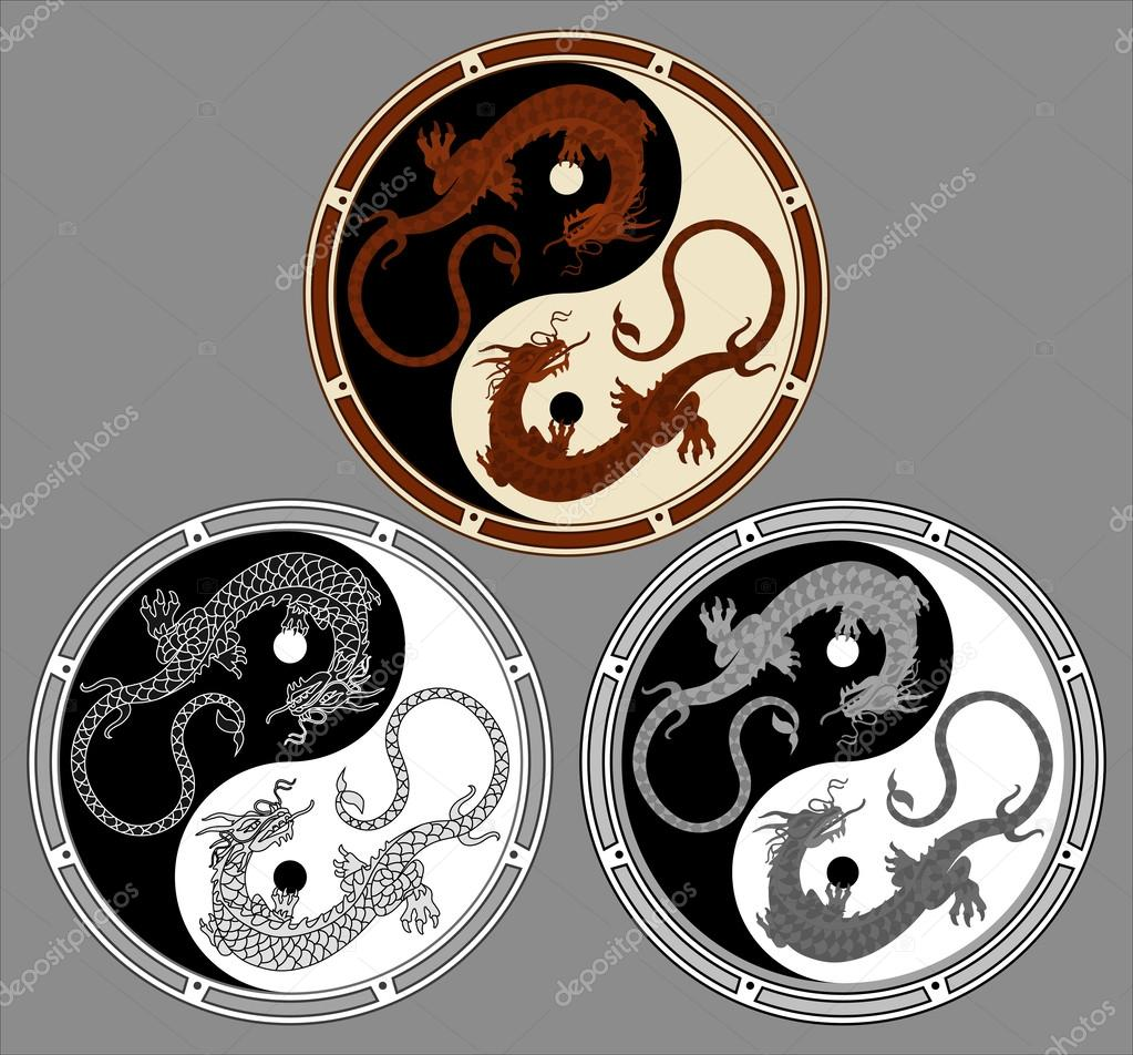 Dragon the yin yang dragons in the shape of the yin yang symbol of dragon the yin yang dragons in the shape of the yin yang symbol of buycottarizona Choice Image