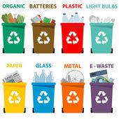 Fotografia i cestini dei rifiuti
