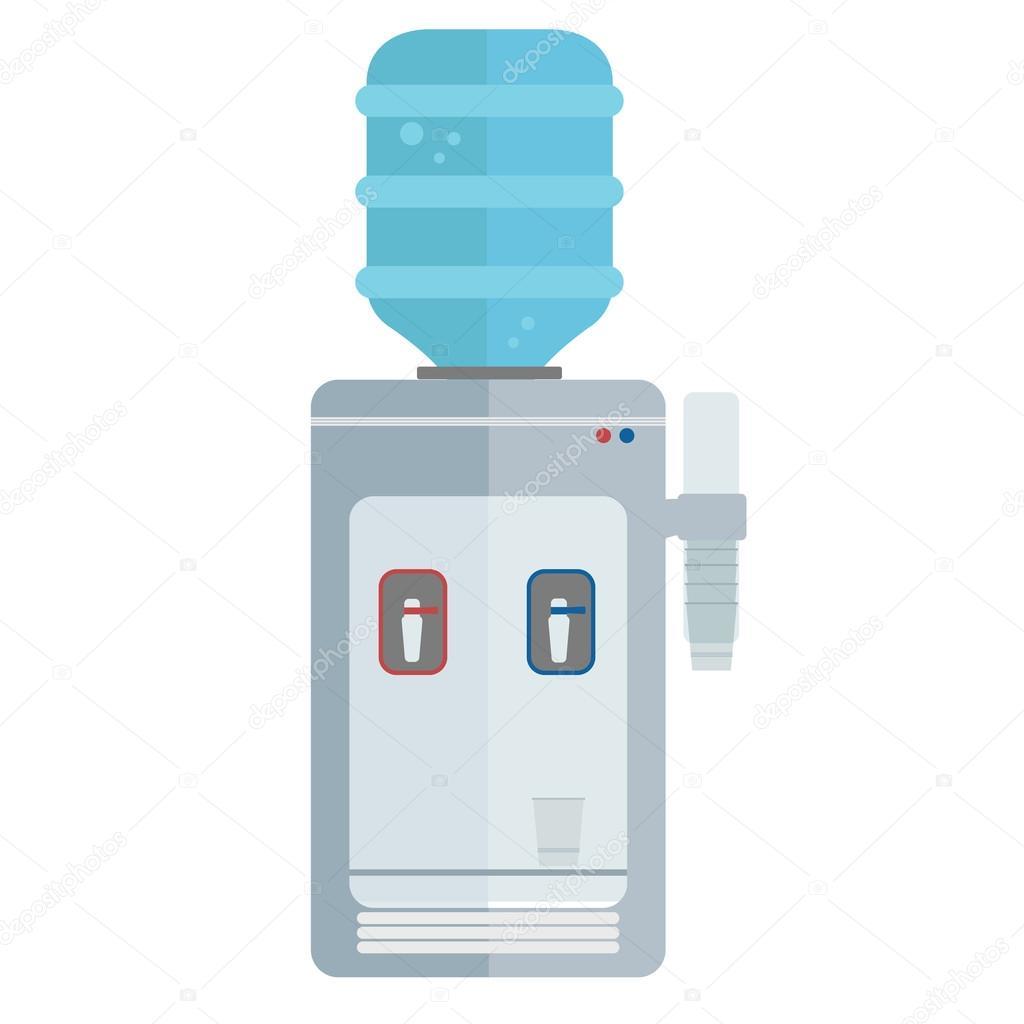 M quina dispensador de agua vector de stock royalty - Maquina de agua ...