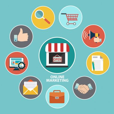 Online Marketing. Strategy Components, shopping