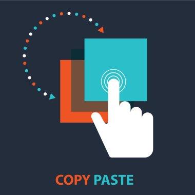 Copy Paste design concept