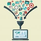 Creative process, big data filter