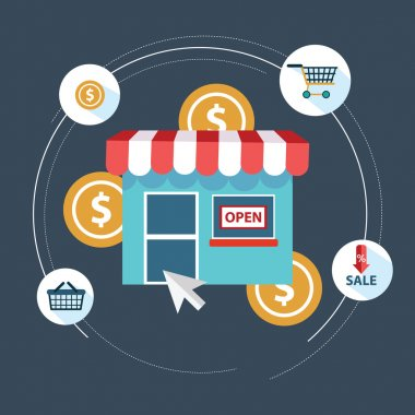 Online shopping Strategy Components