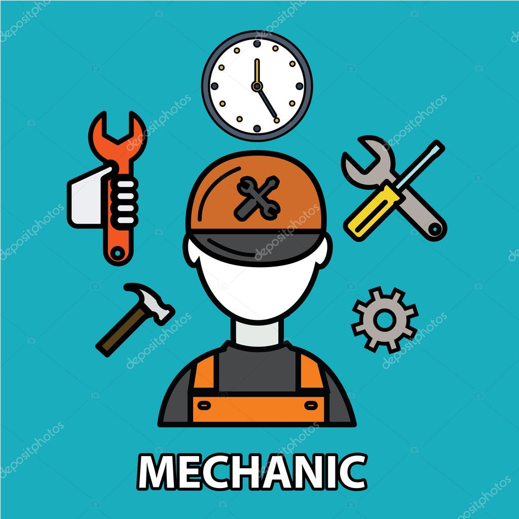 Technical service, mechanic support
