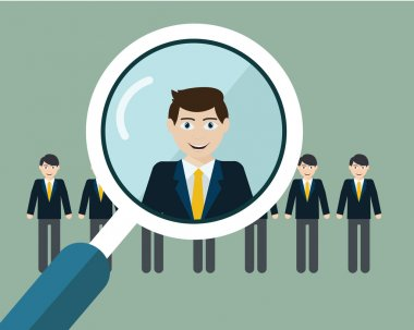 finding professional staff concept