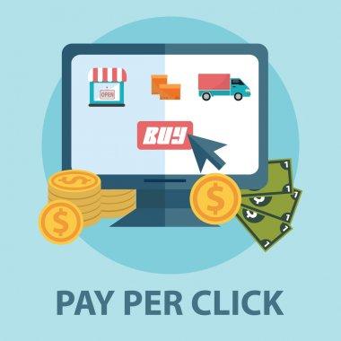 concept of pay per click