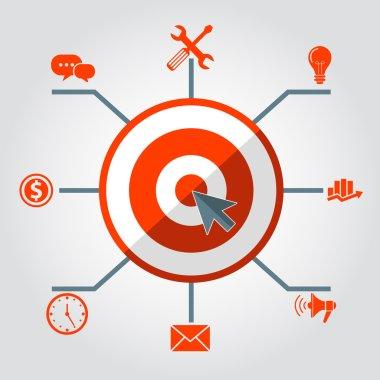 Digital marketing infographics