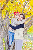 Matka a dcera na podzim
