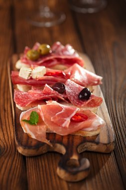 Antipasti Platter of Cured Meat