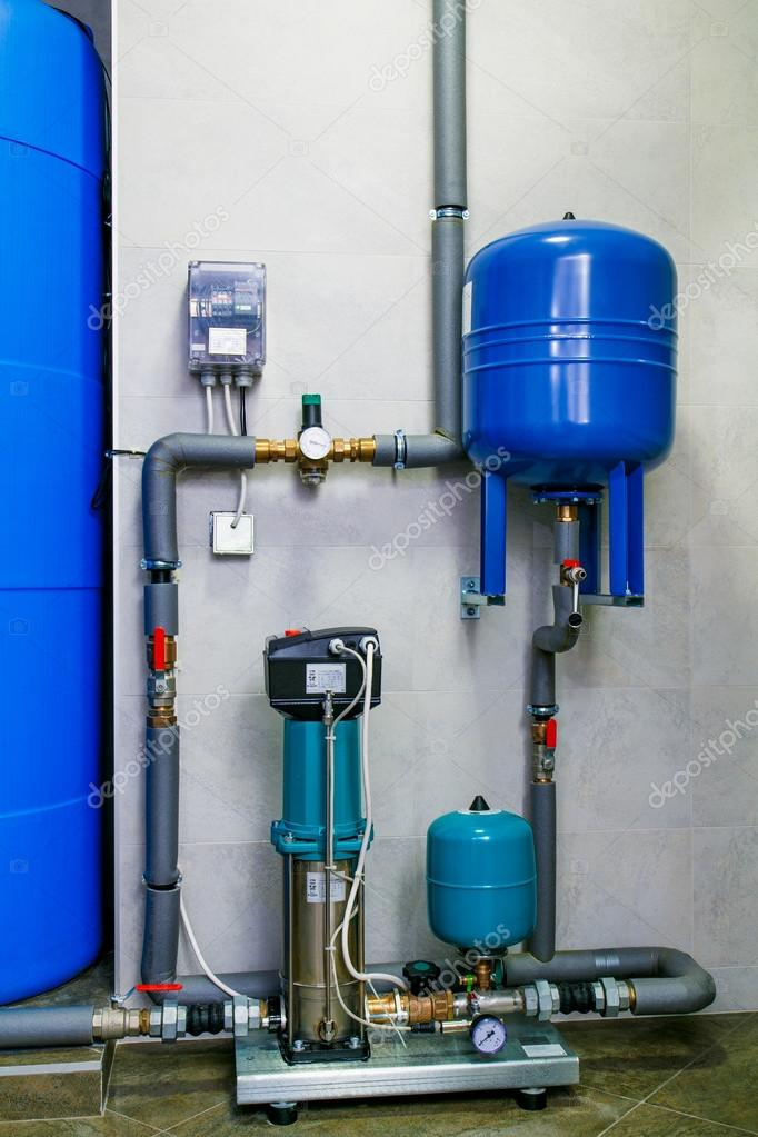 site wastewater treatment system with sensors and indicators