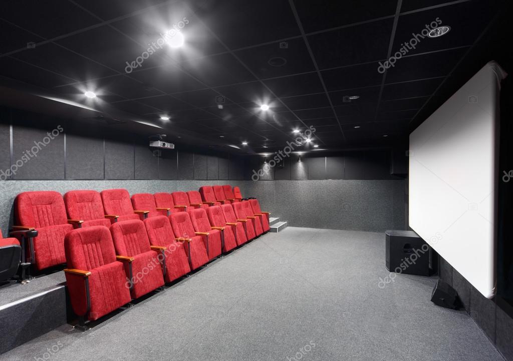 Et Avec Rouges Théâtre Intérieur Petit Chaises D'un Écran rCxtsQdhB