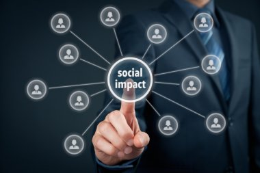 Company improve its social impact