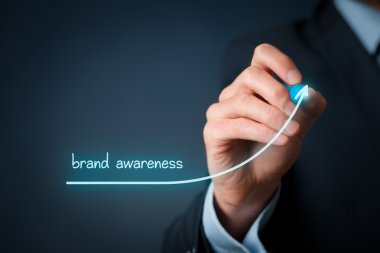 Brand awareness improvement concept
