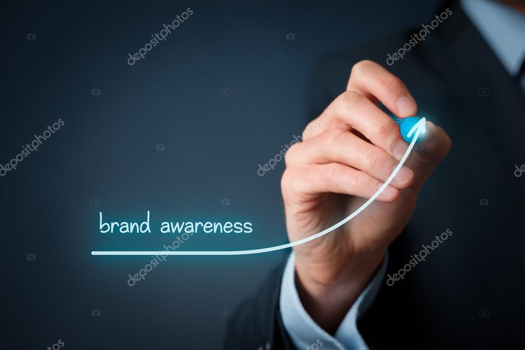 Brand awareness improvement concept