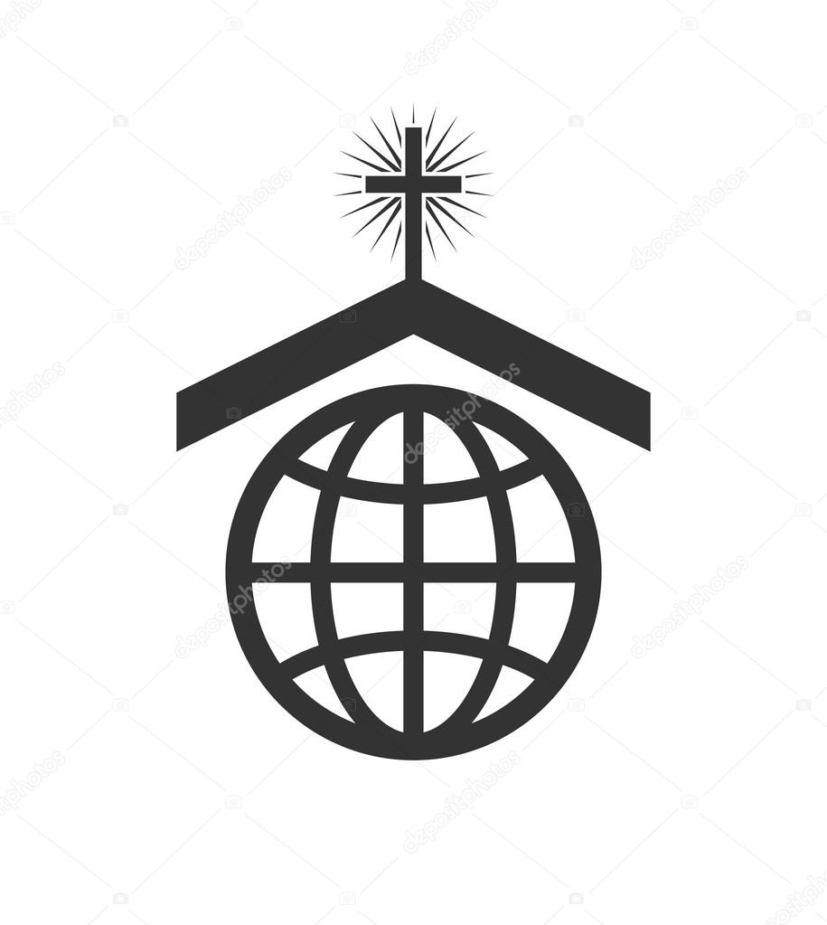 Vector symbol or icon of christian church worldwide mission vector symbol or icon of christian church worldwide mission stock vector biocorpaavc Choice Image