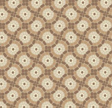 vector tile mosaic floor, stone background pattern
